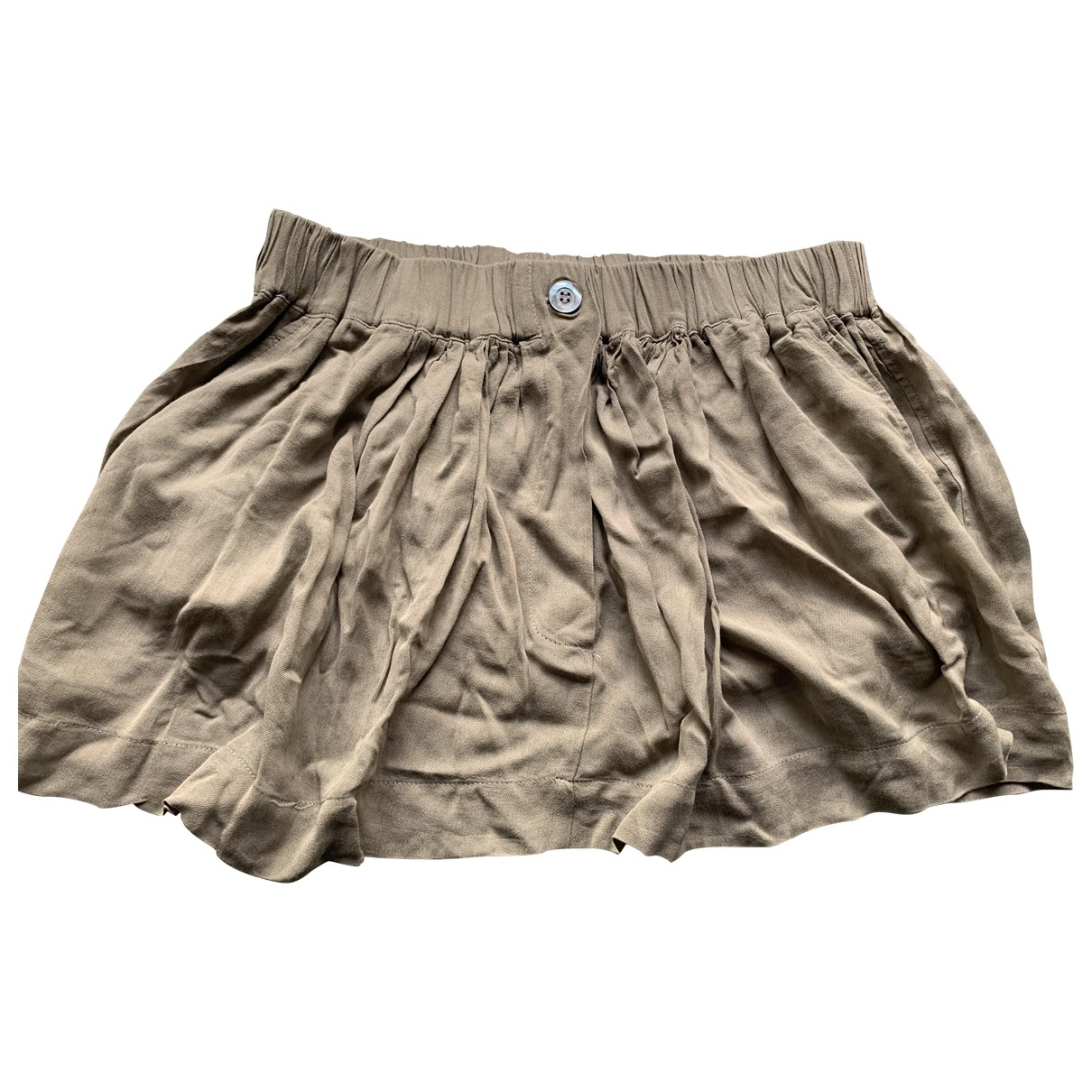 Forte_forte \N Khaki skirt for Women 0 0-5