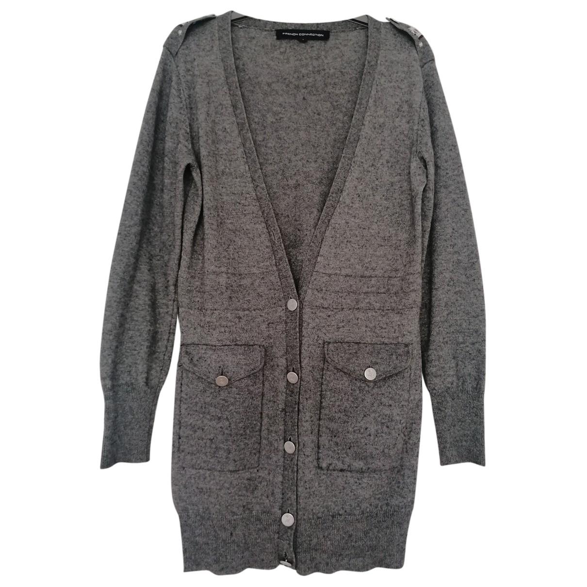French Connection - Pull   pour femme en laine - gris