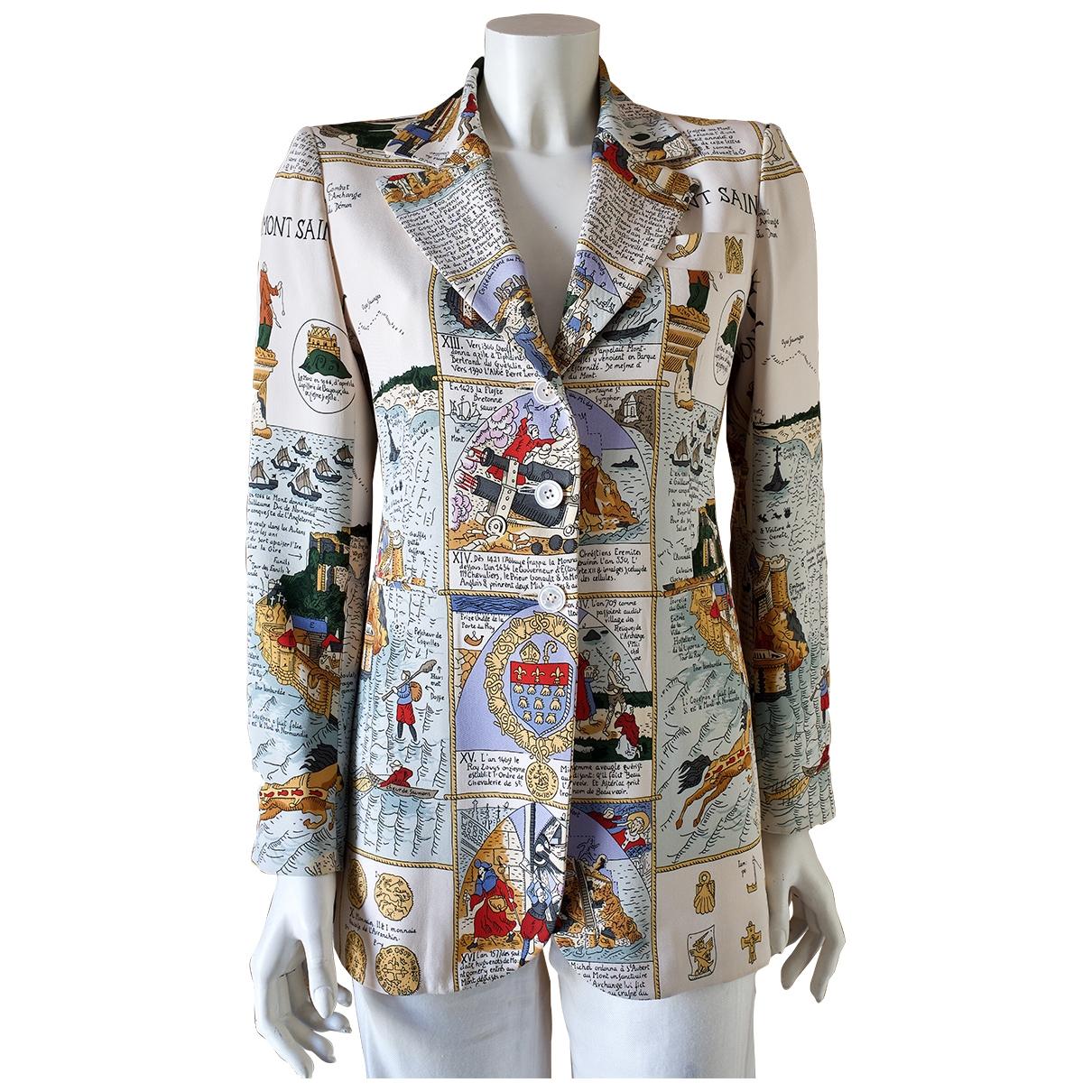 Hermès \N Multicolour Silk jacket for Women 38 FR