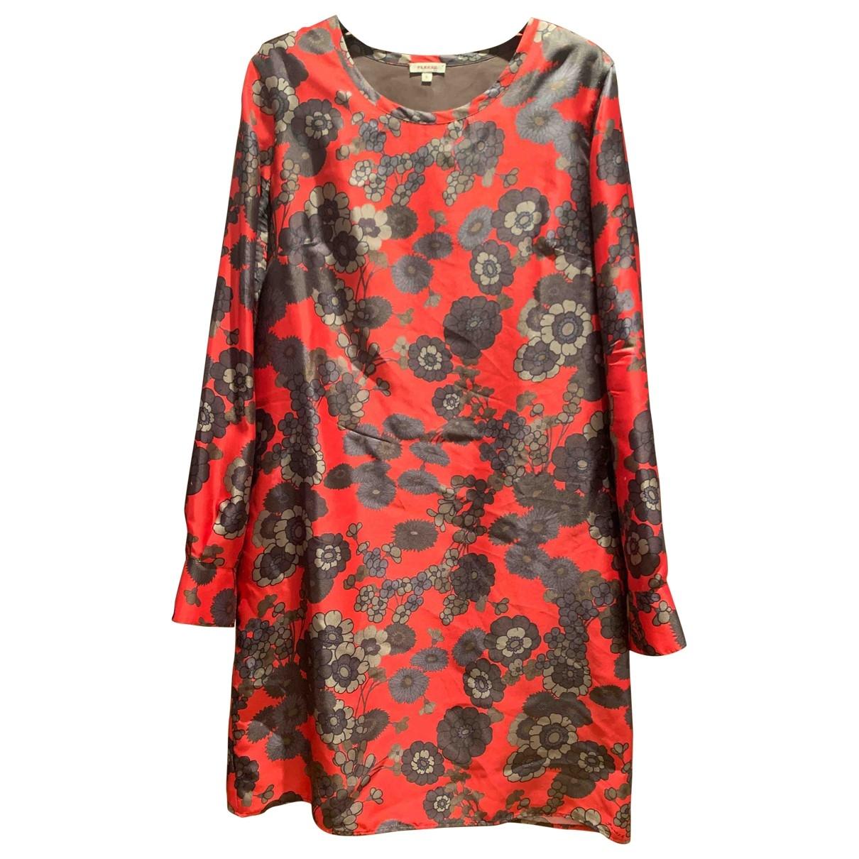 Parosh \N Kleid in  Rot Seide