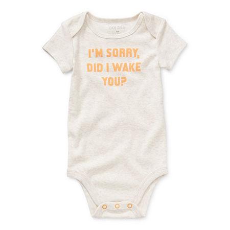 Okie Dokie Baby Unisex Bodysuit, 12 Months , White