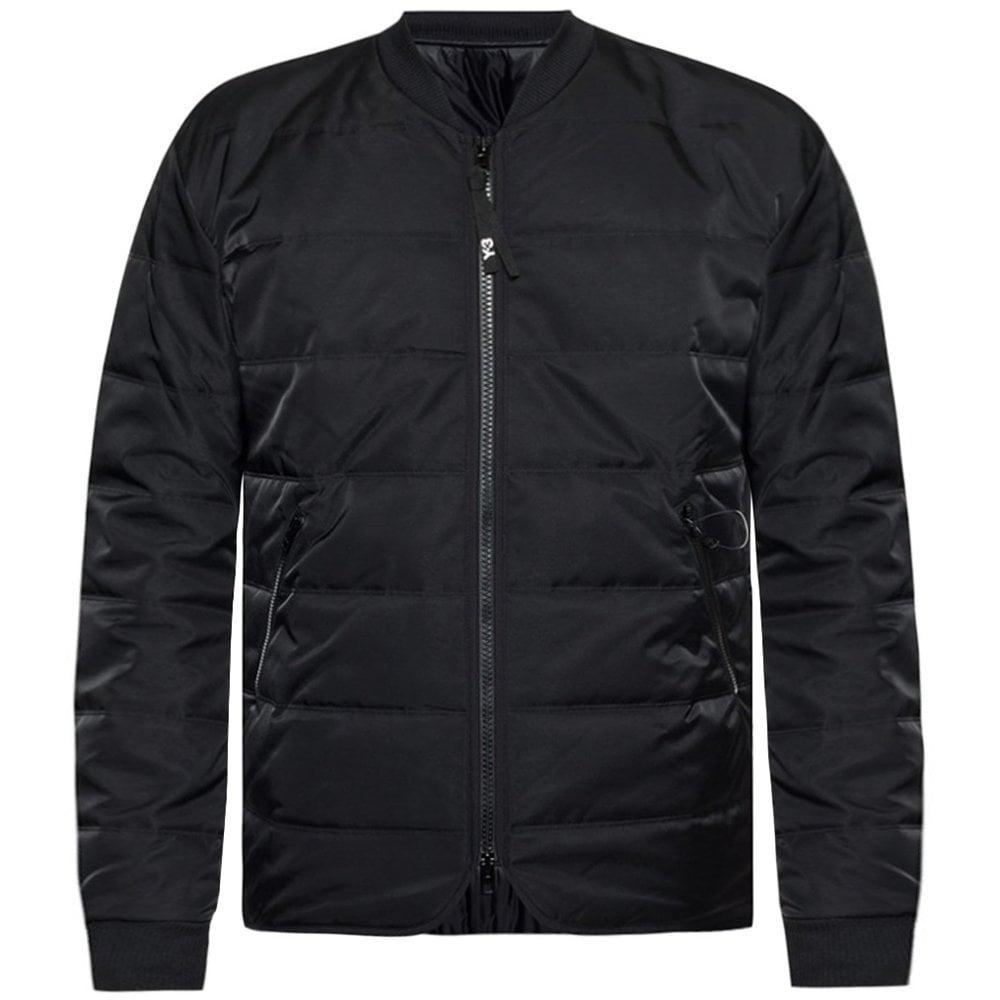 Y-3 Reverse Logo Padded Liner Jacket Colour: BLACK, Size: MEDIUM