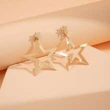Ohrringe mit Stern Design