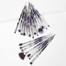 Makeup Pinsel mit Ombre Griff 20pcs