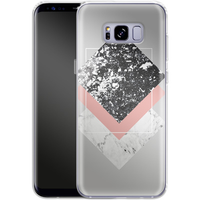 Samsung Galaxy S8 Plus Silikon Handyhuelle - Geometric Textures 1 von Mareike Bohmer