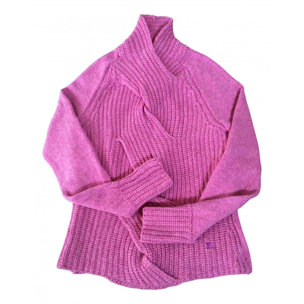 Burberry N Pink Wool Knitwear for Women 40 FR