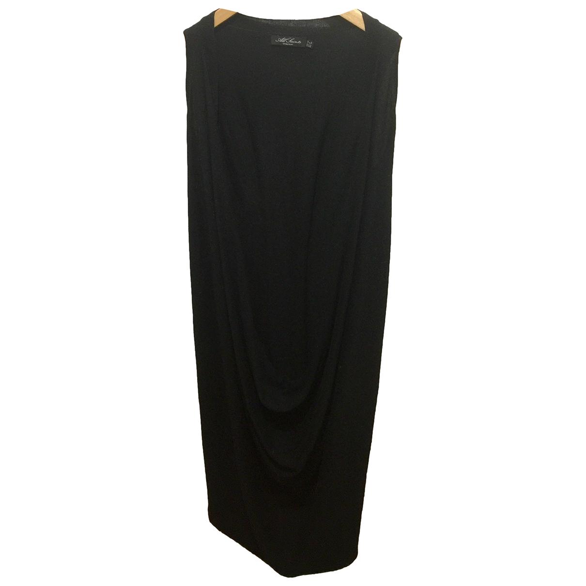 All Saints \N Black Wool dress for Women 10 UK