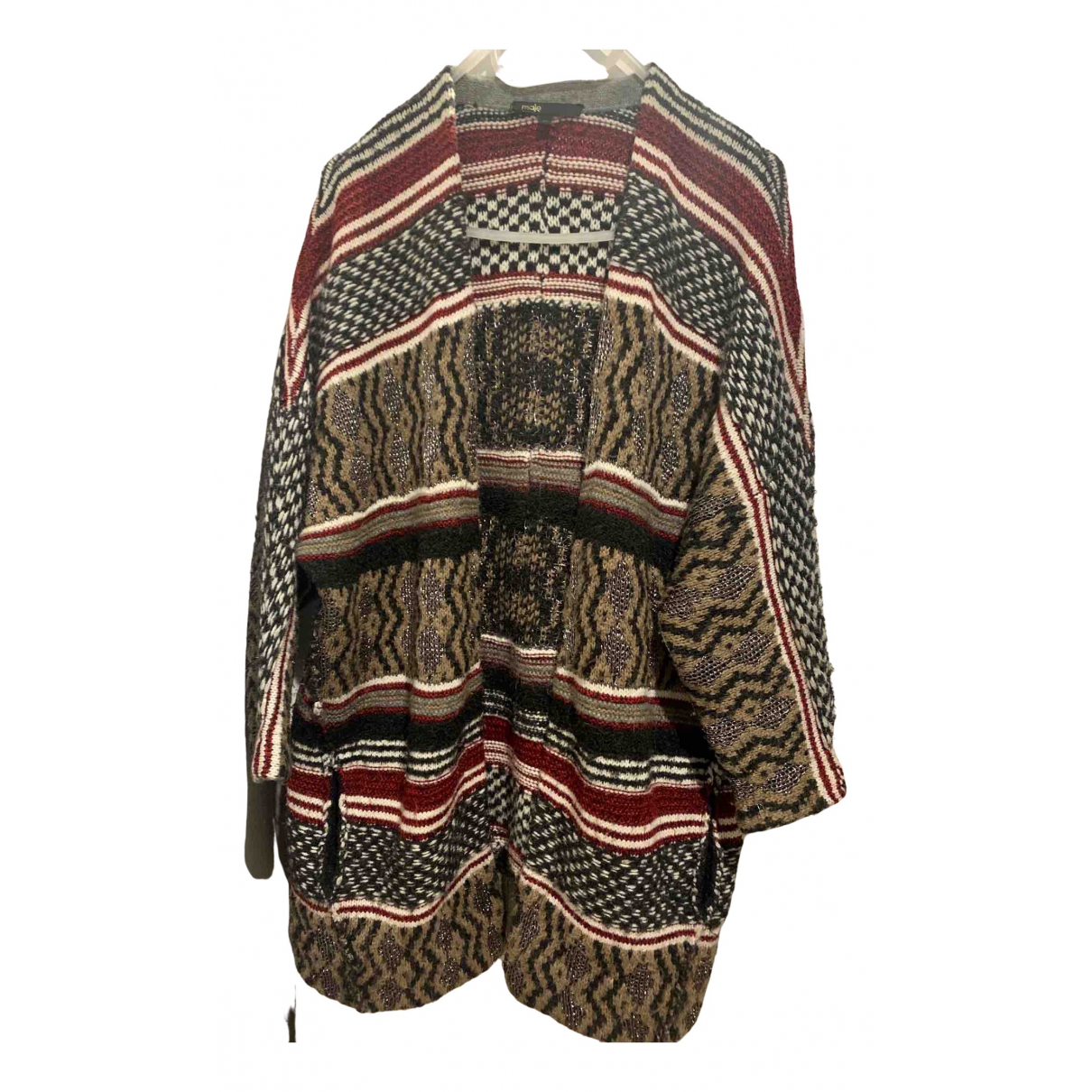 Maje \N Pullover in  Bunt Wolle