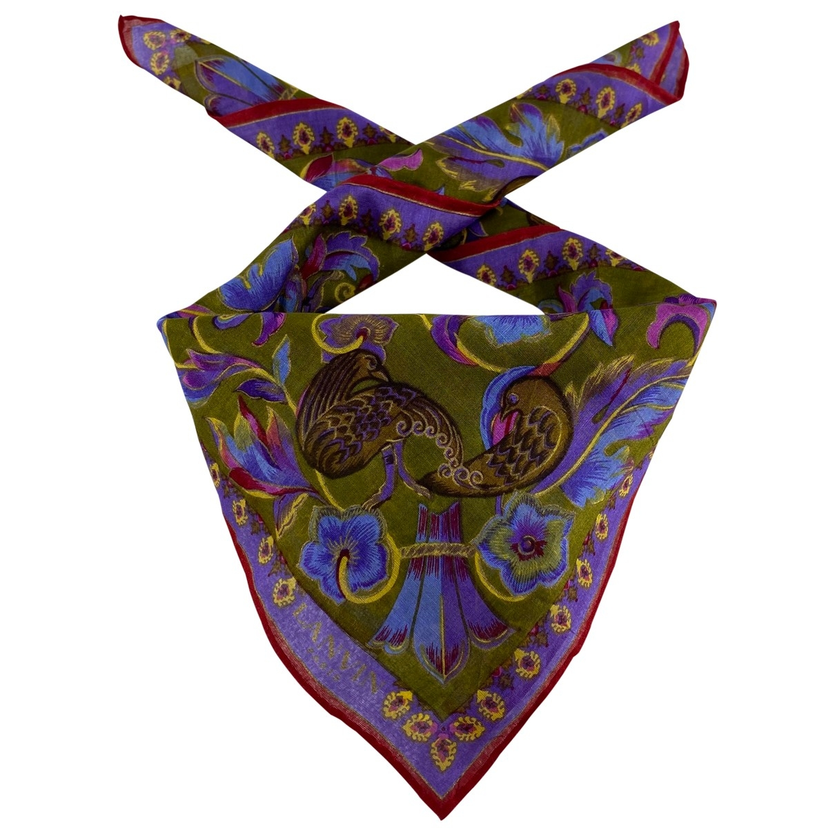 Lanvin \N Cotton scarf for Women \N