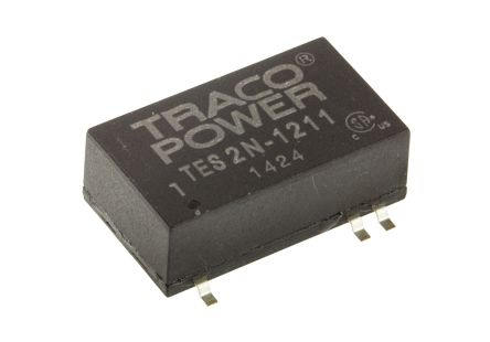 TRACOPOWER TES 2N 2W Isolated DC-DC Converter Surface Mount, Voltage in 9 → 18 V dc, Voltage out 5V dc