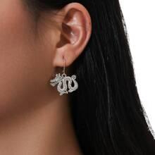 Dragon Shape Drop Earrings