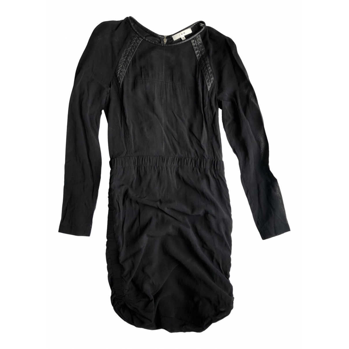 Iro - Robe   pour femme en soie - noir