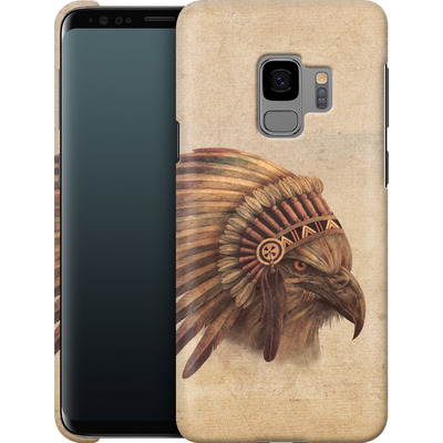 Samsung Galaxy S9 Smartphone Huelle - Eagle Chief von Terry Fan
