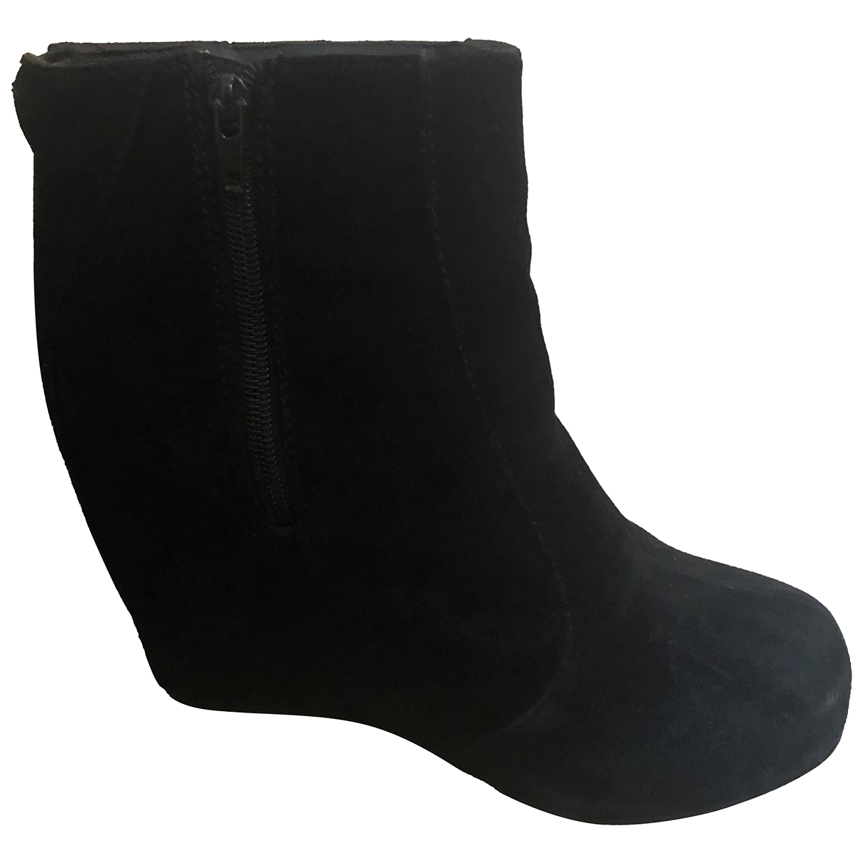Jeffrey Campbell N Black Suede Ankle boots for Women 39 EU