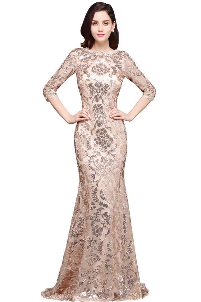 AVERI   Mermaid Scoop Sequins Gorgeous Prom Dress