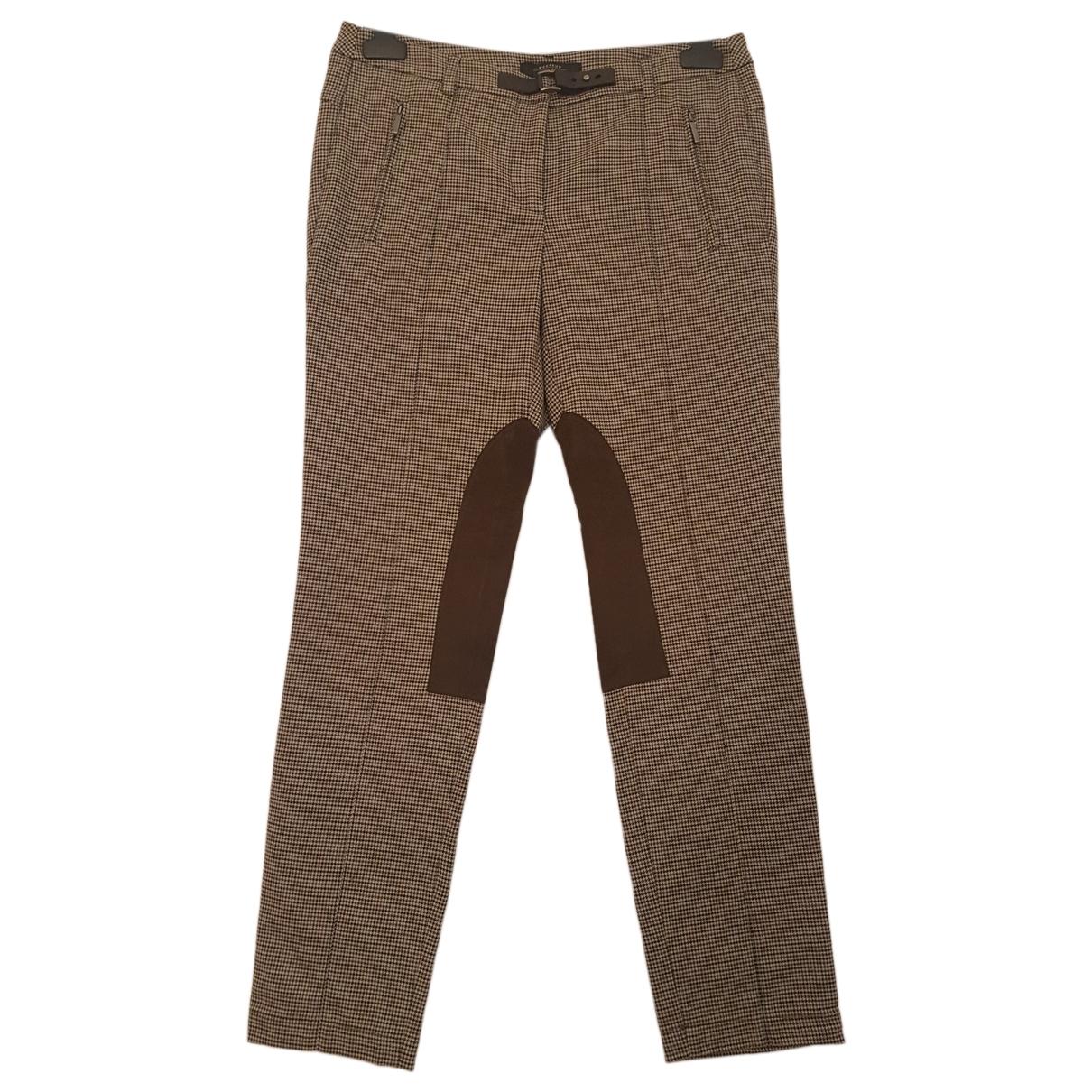 Max Mara Weekend \N Multicolour Trousers for Women 42 FR