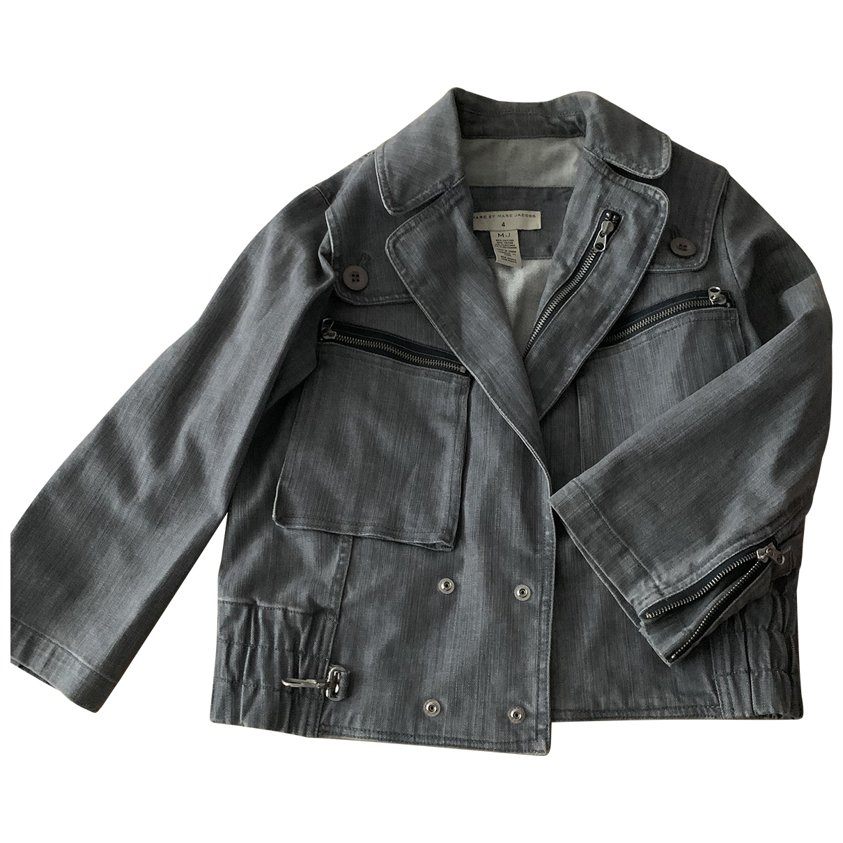 Marc By Marc Jacobs \N Grey Denim - Jeans jacket for Women 4 US