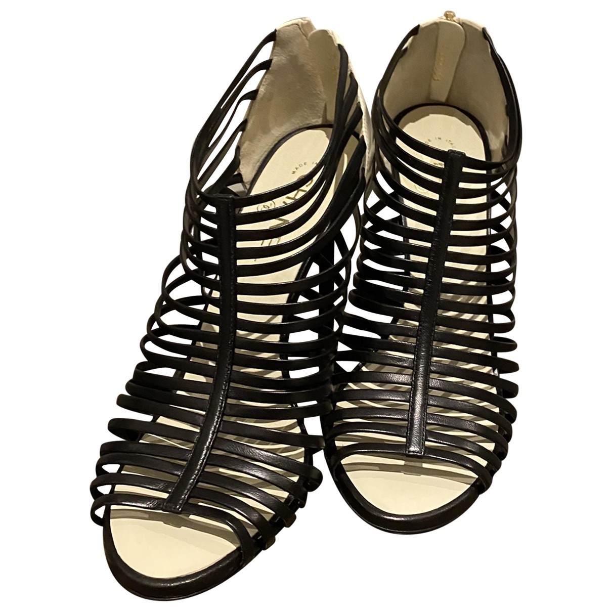 Chanel \N Leather Sandals for Women 41 EU