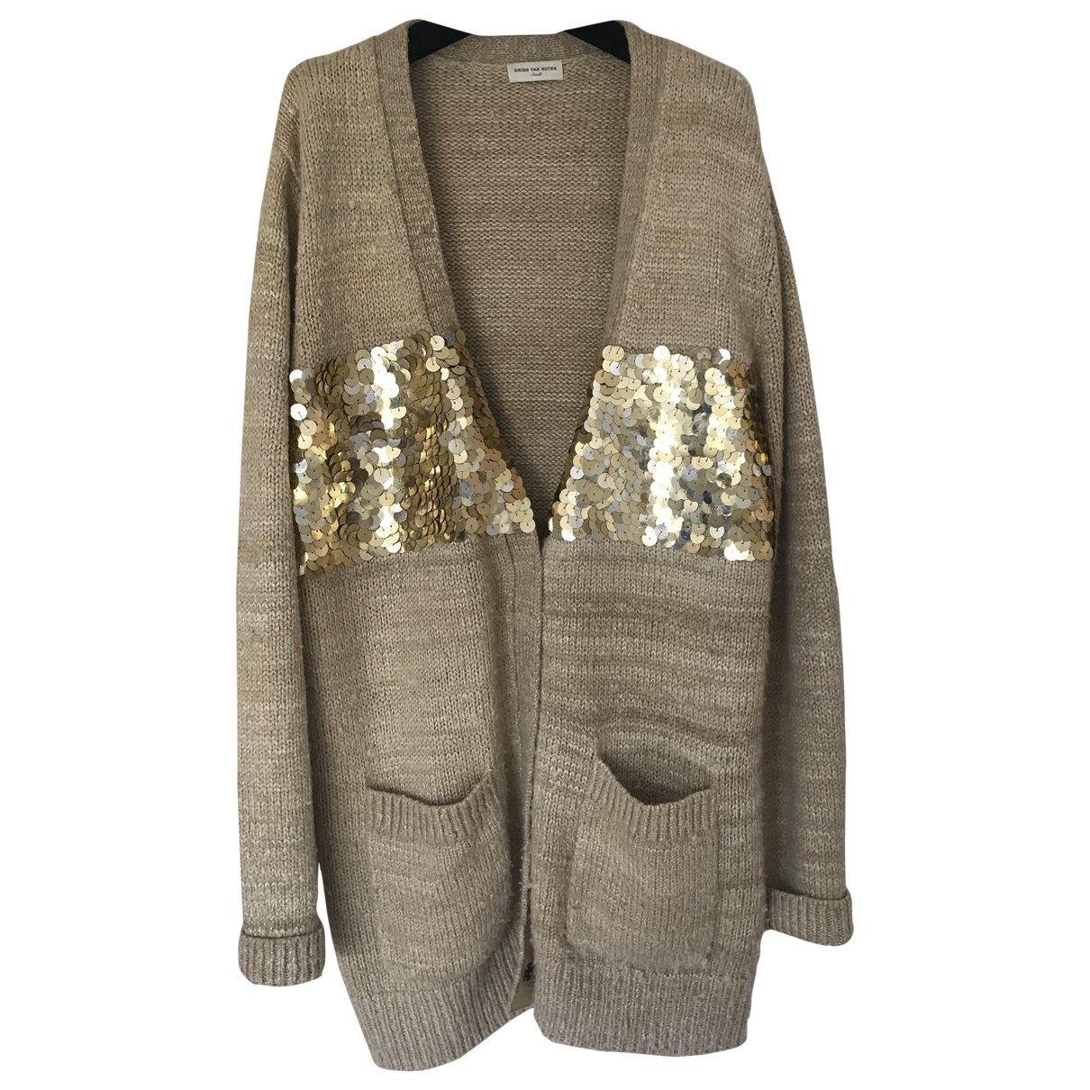 Dries Van Noten \N Beige Silk Knitwear for Women 40 FR