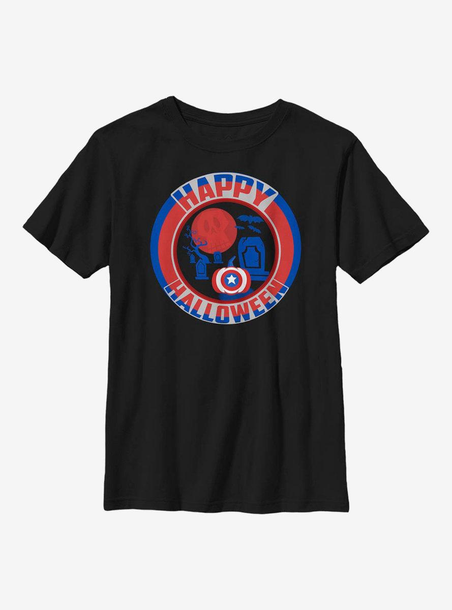 Marvel Captain America Happy Halloween Youth T-Shirt