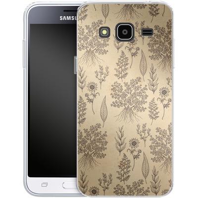 Samsung Galaxy J3 (2016) Silikon Handyhuelle - Natura von Daniel Martin Diaz