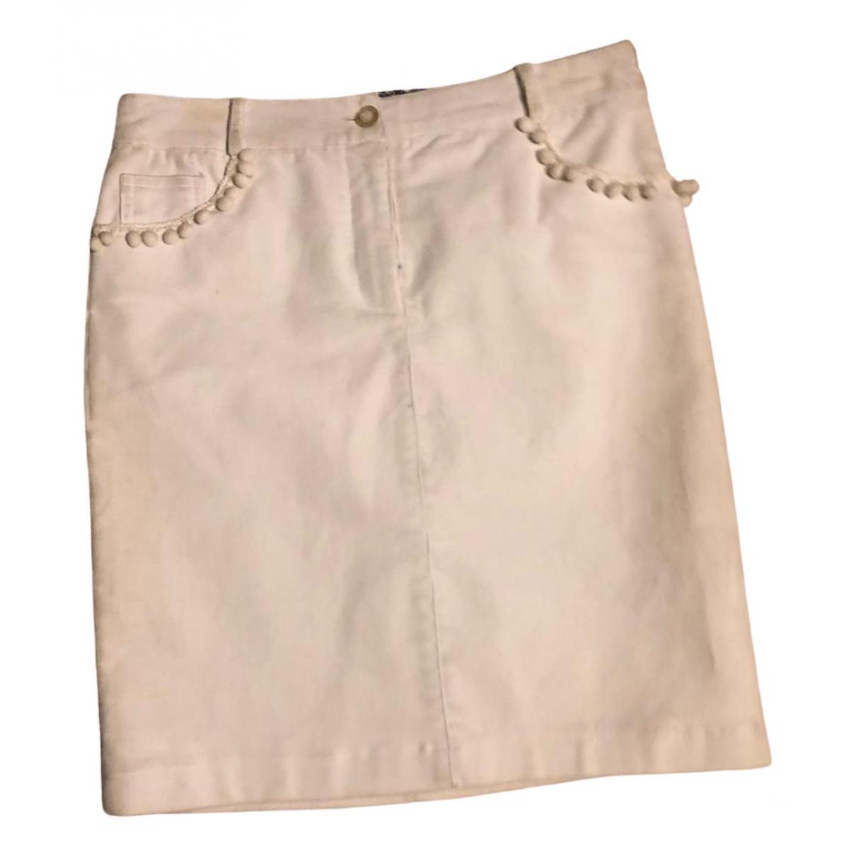 Matthew Williamson - Jupe   pour femme en coton - blanc