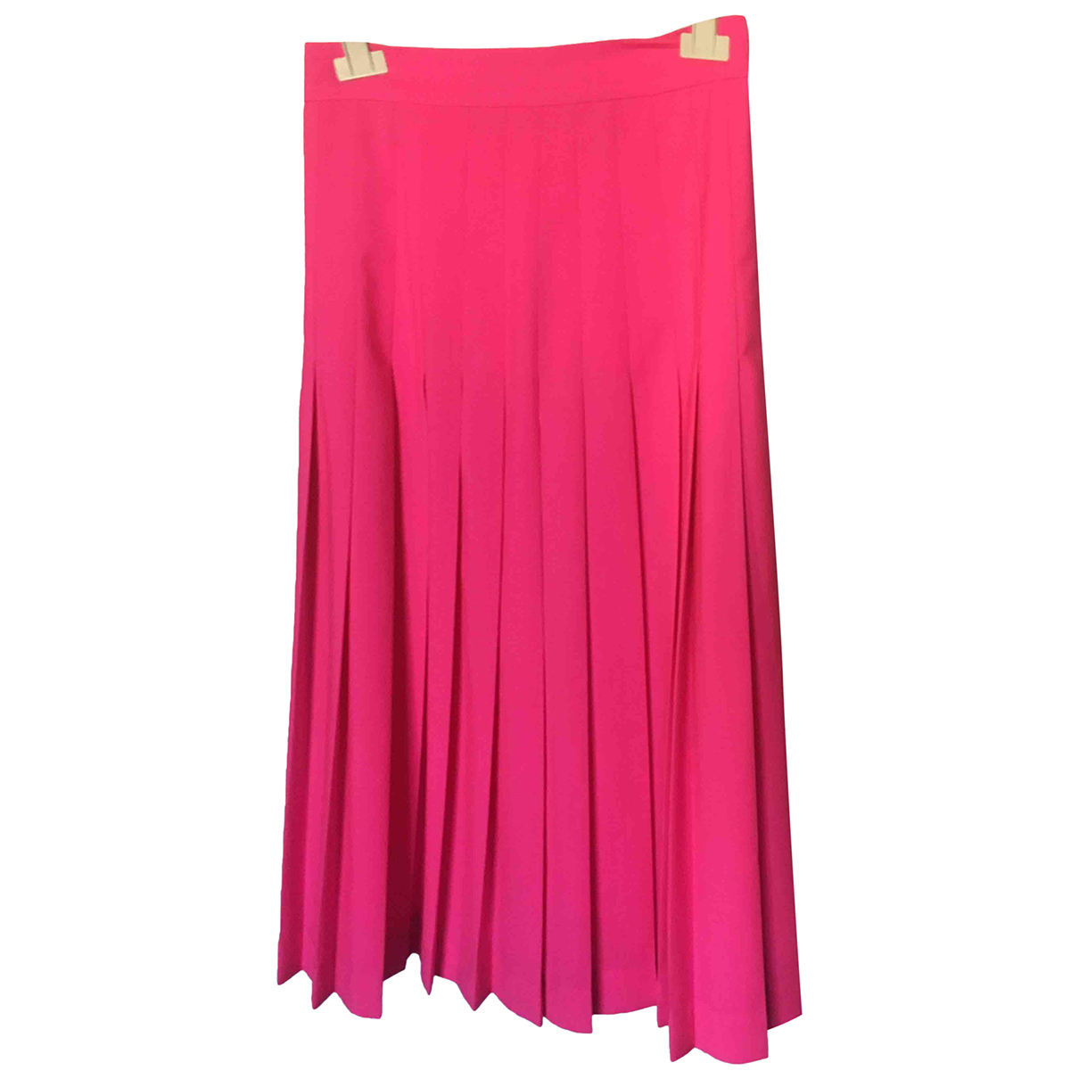 Msgm - Jupe   pour femme en laine - rose