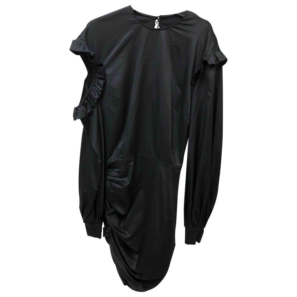 Magda Butrym \N Black Silk dress for Women 36 FR