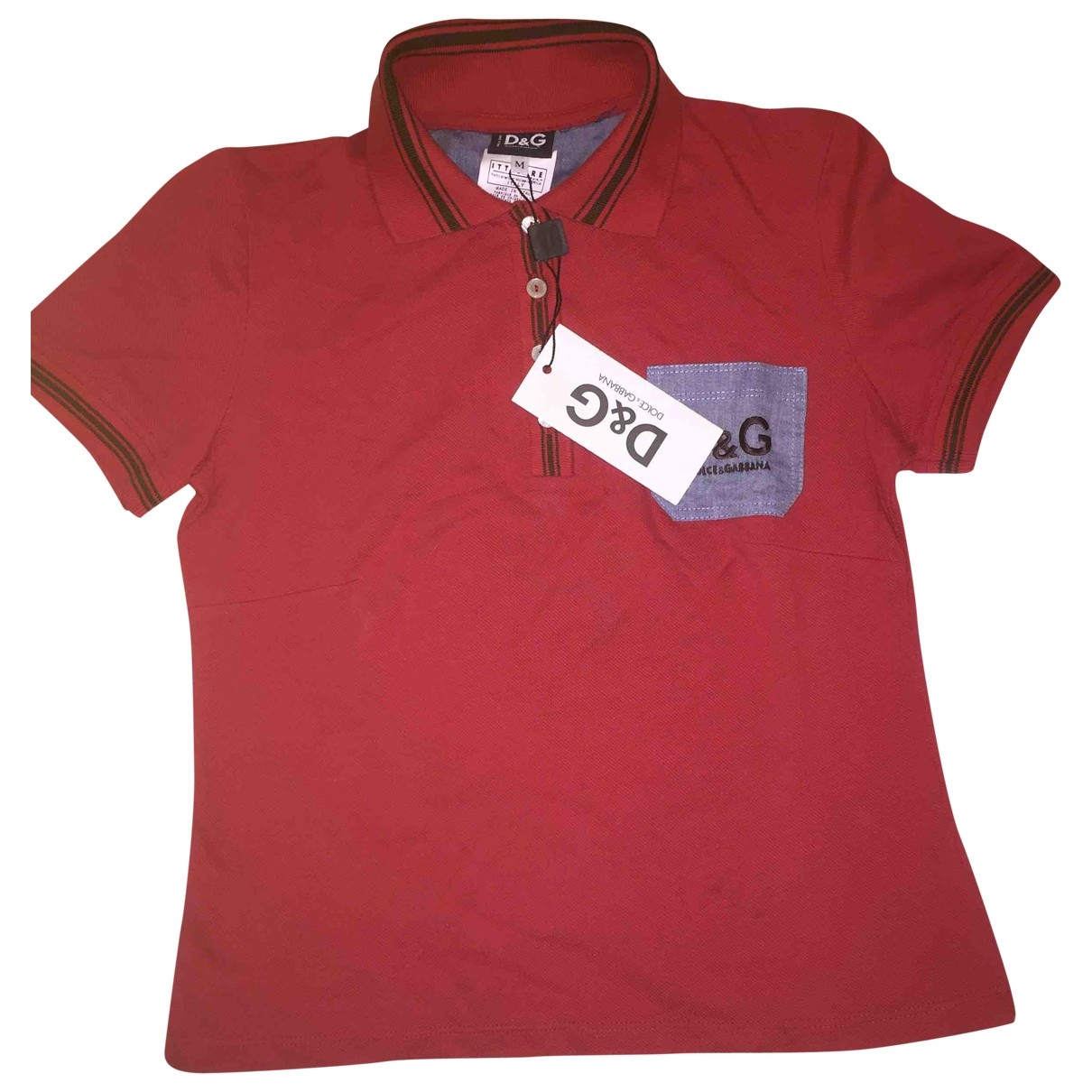 D&g \N Top in  Rot Baumwolle