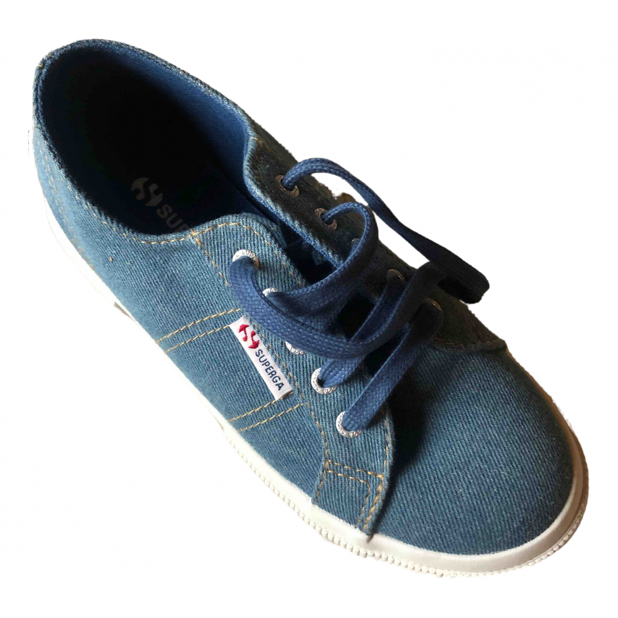 Superga \N Sneakers in Leinen