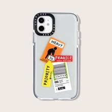 Label Pattern iPhone Case