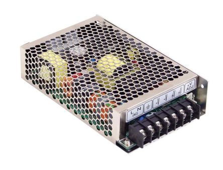 Mean Well , 150W Embedded Switch Mode Power Supply SMPS, 15V dc, Enclosed