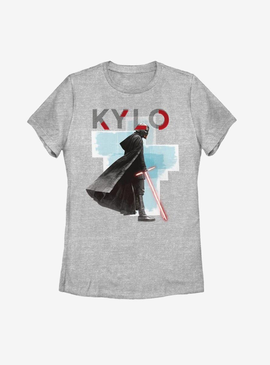 Star Wars Episode IX The Rise Of Skywalker Kylo Red Mask Womens T-Shirt