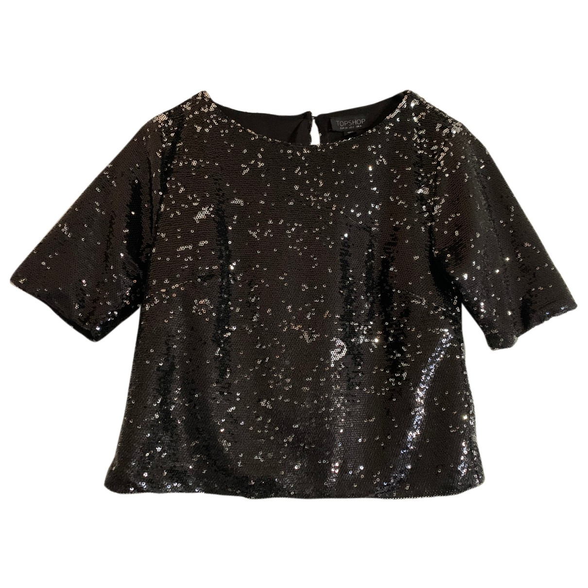 tophop N Black Glitter  top for Women 6 UK
