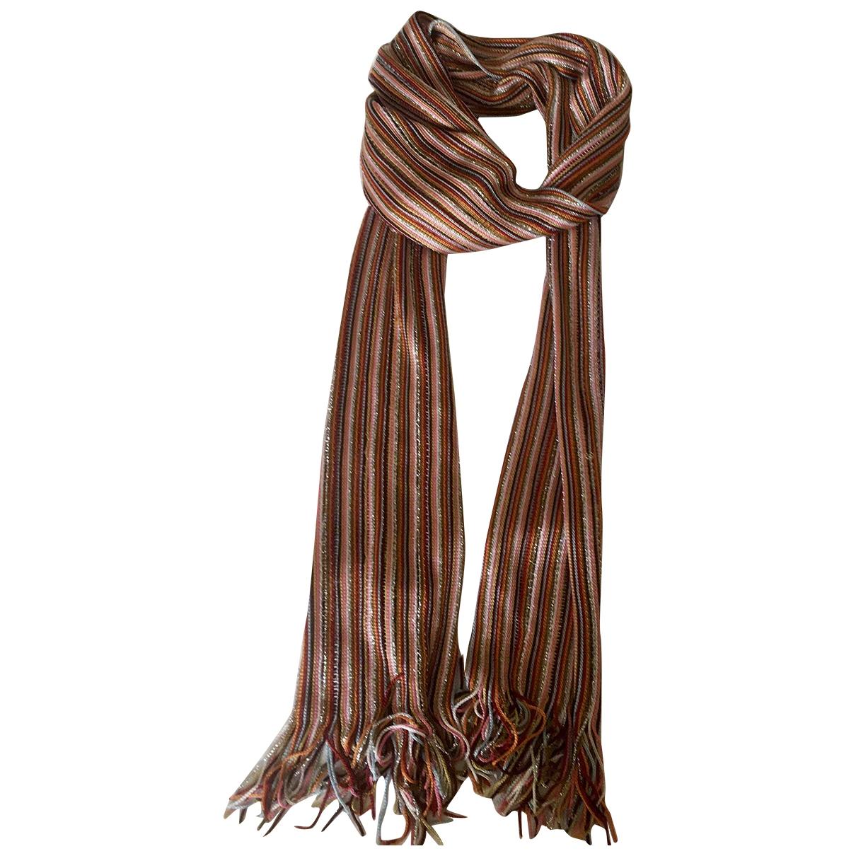 M Missoni \N Multicolour scarf for Women \N