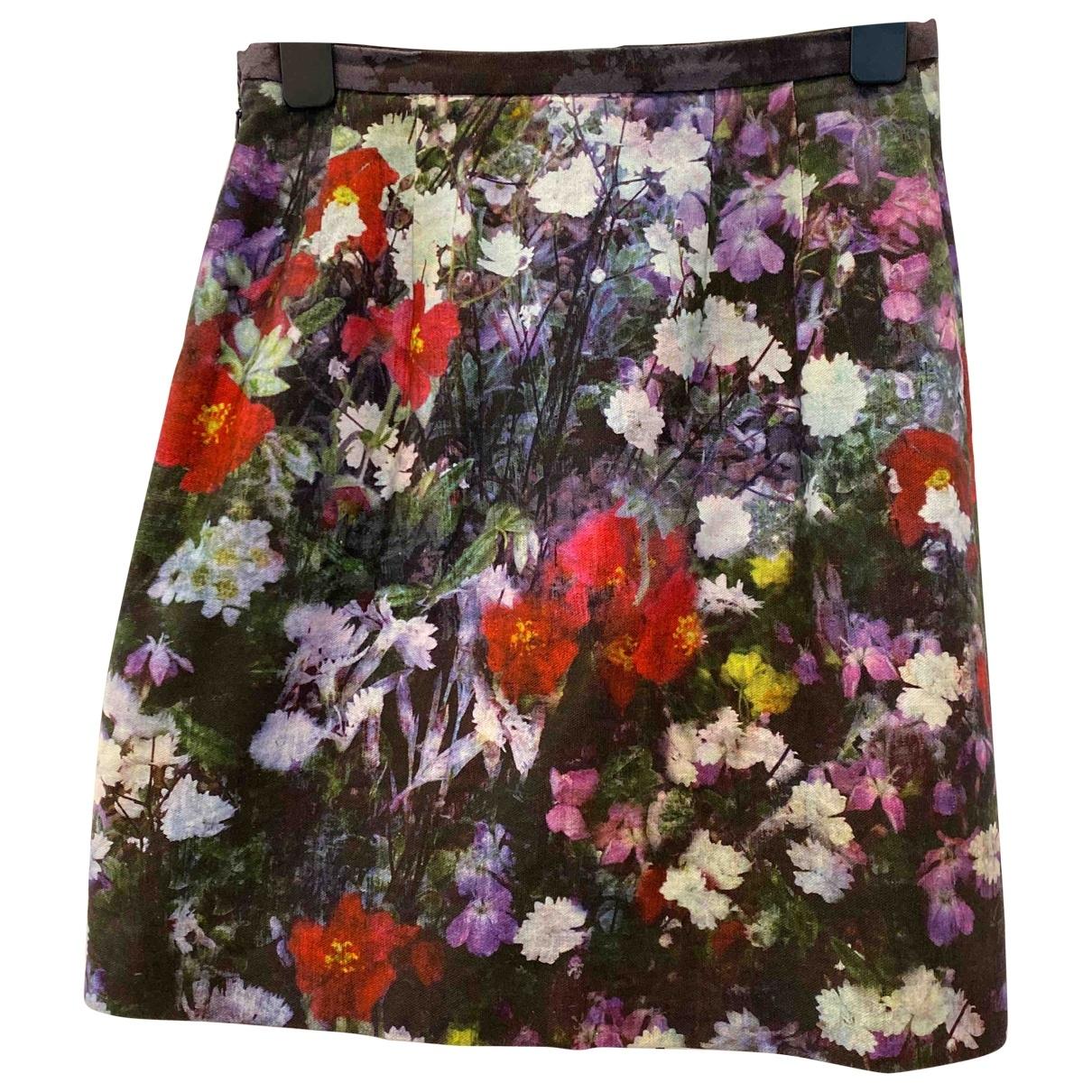 Paul Smith - Jupe   pour femme en coton - multicolore