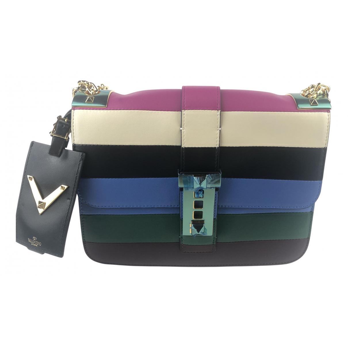 Valentino Garavani Glam Lock Multicolour Leather handbag for Women N