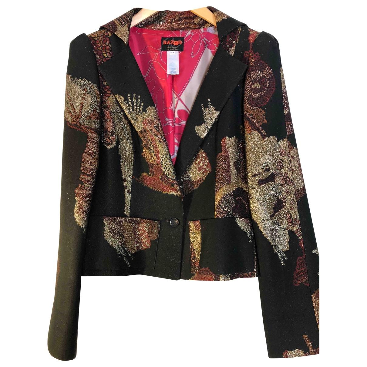 Christian Lacroix \N Black Cotton jacket for Women 38 FR