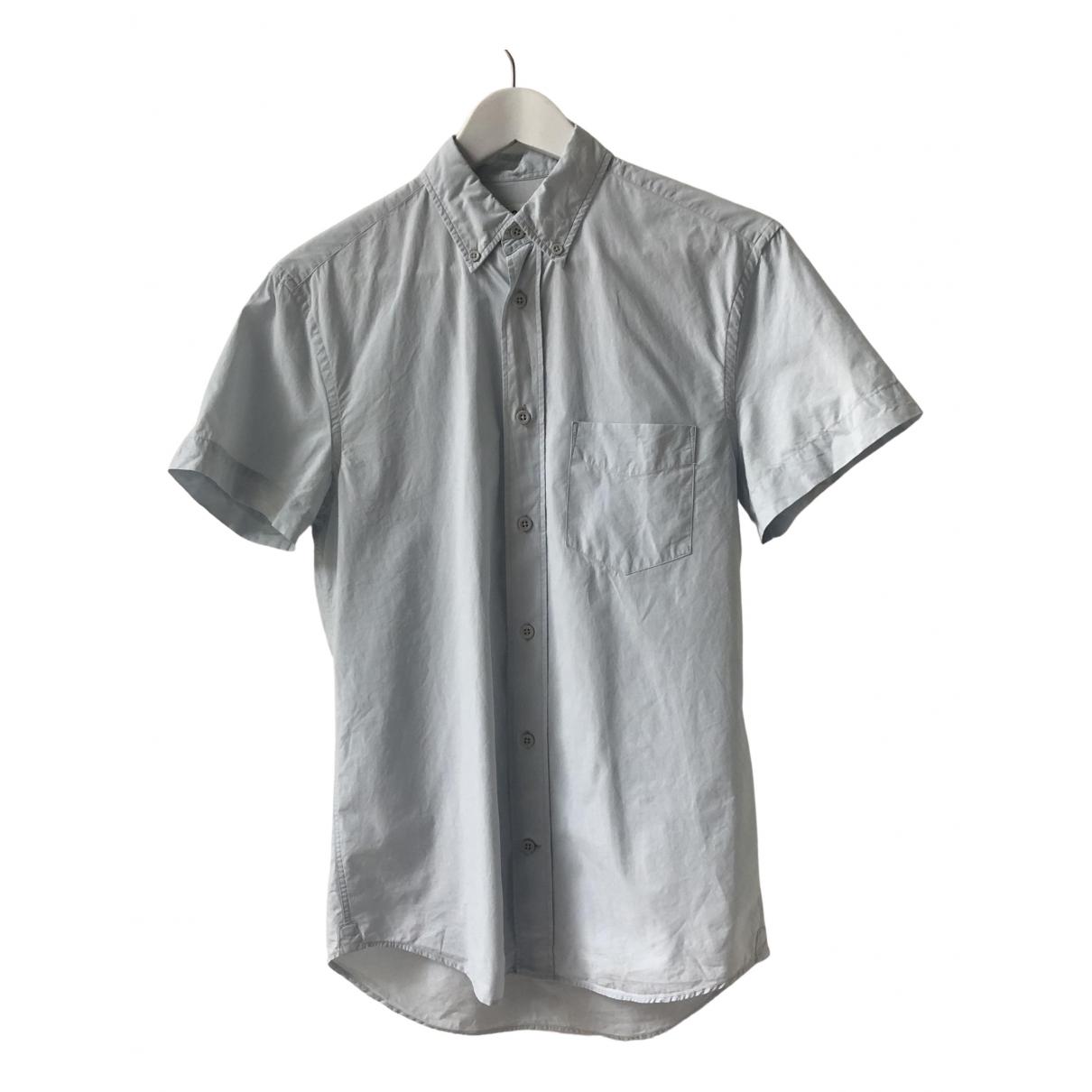 Acne Studios - Chemises   pour homme en coton - bleu
