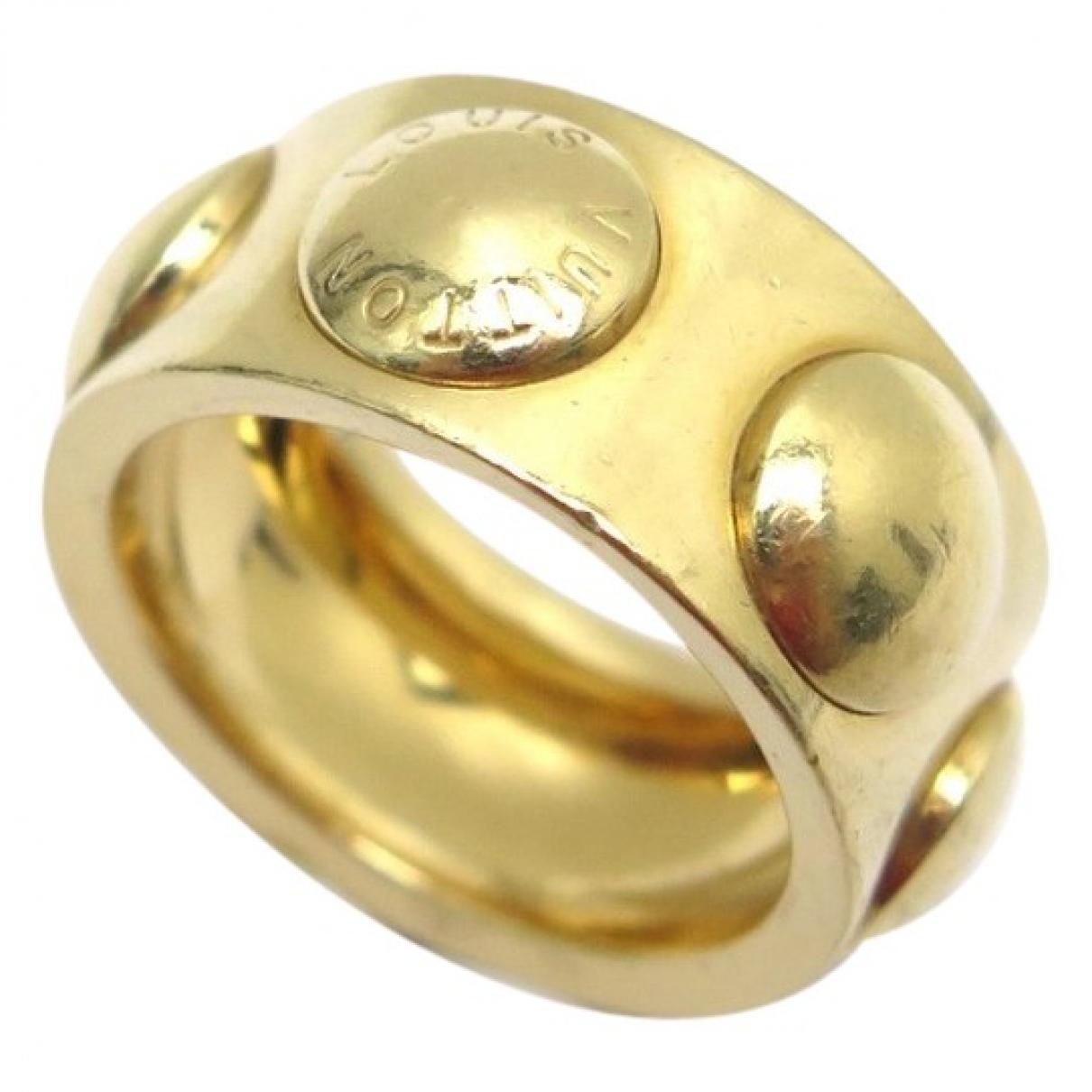Louis Vuitton Empreinte Gold Yellow gold ring for Women 44 MM