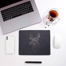 1pc Geo Pattern Mouse Pad