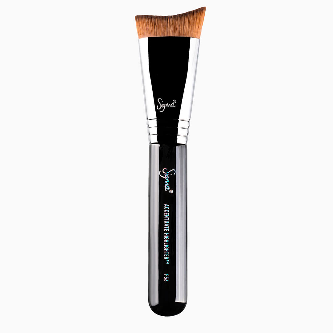 F56 Accentuate Highlighter Brush - Silver