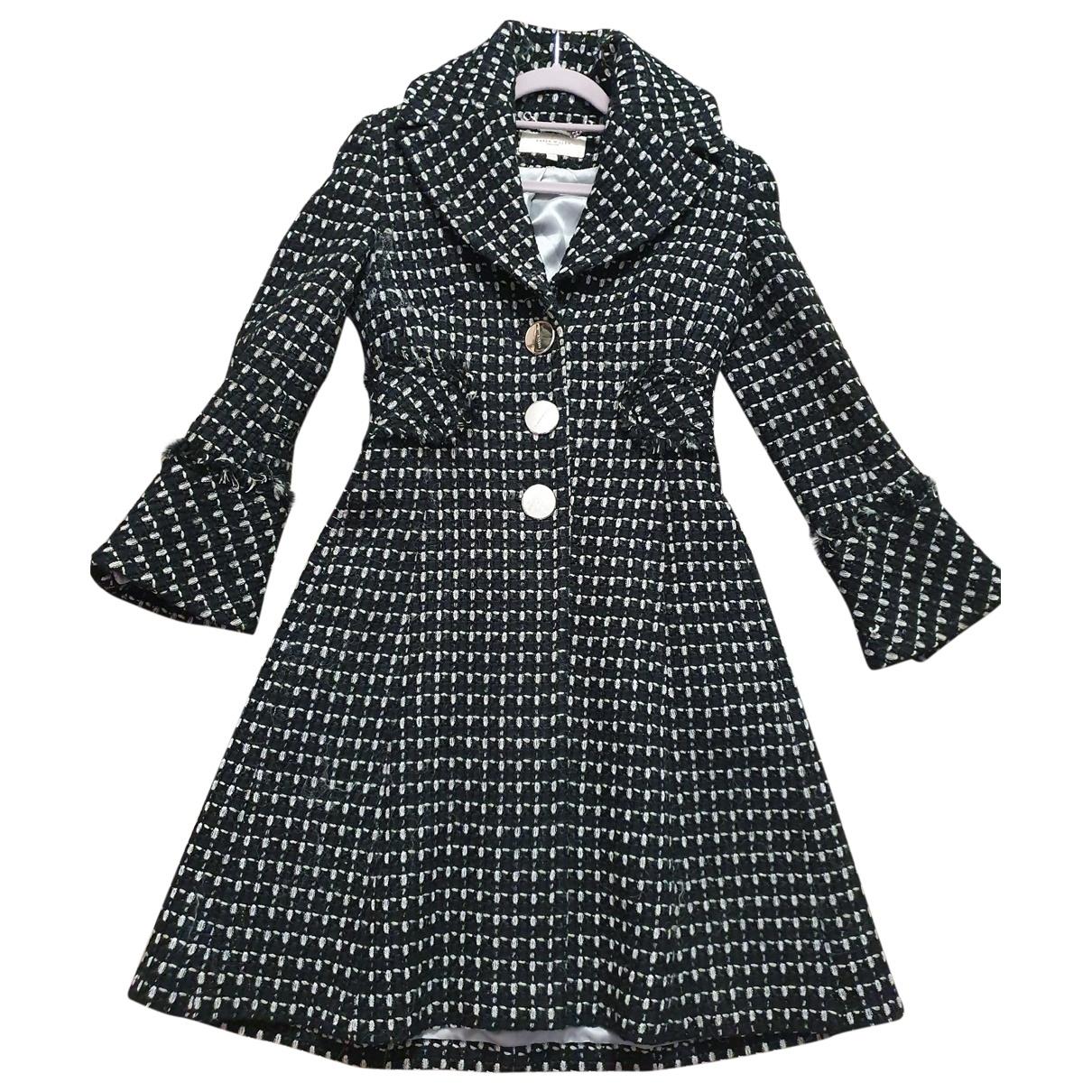 Karen Millen \N Black Wool coat for Women 10 UK
