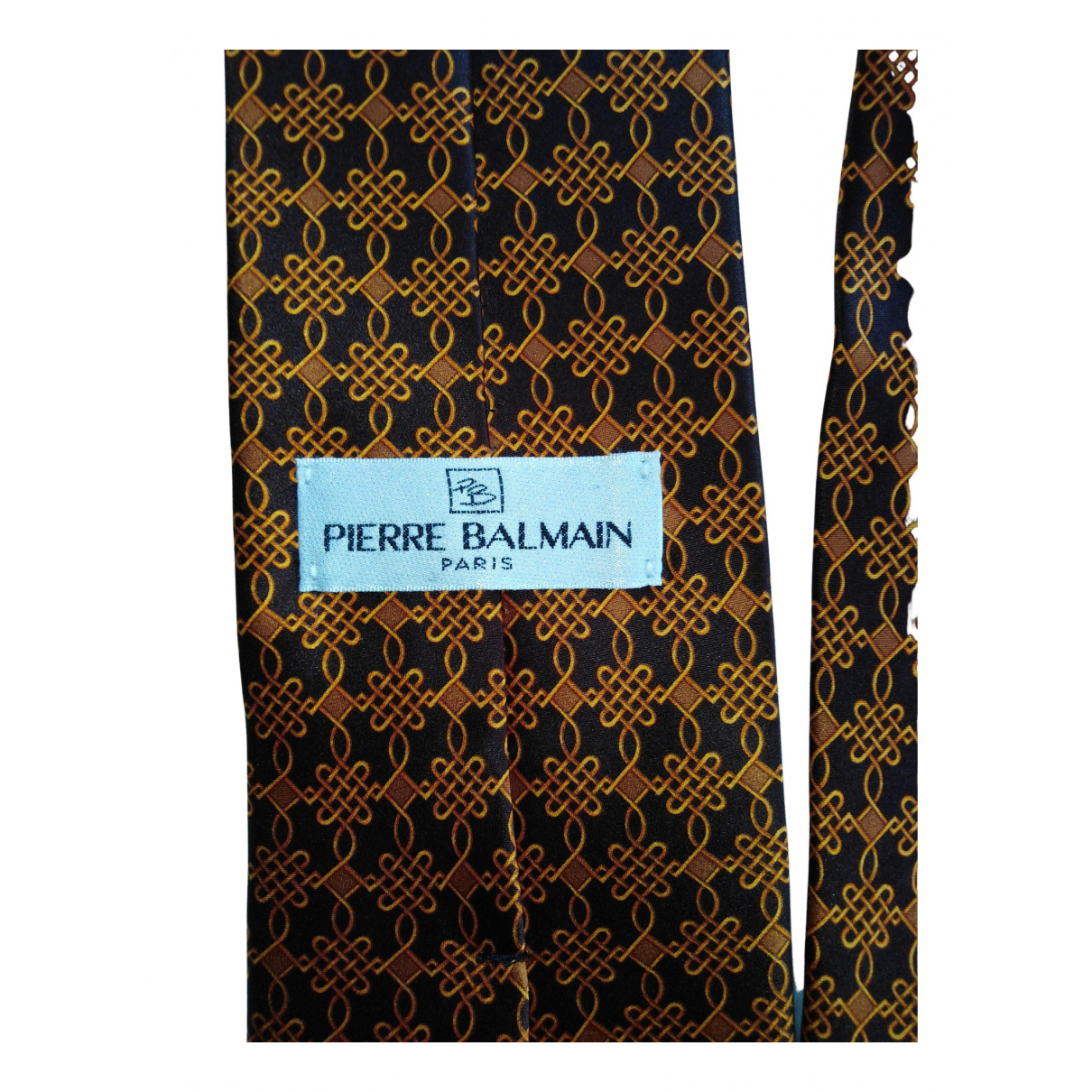 Balmain \N Krawatten in Seide