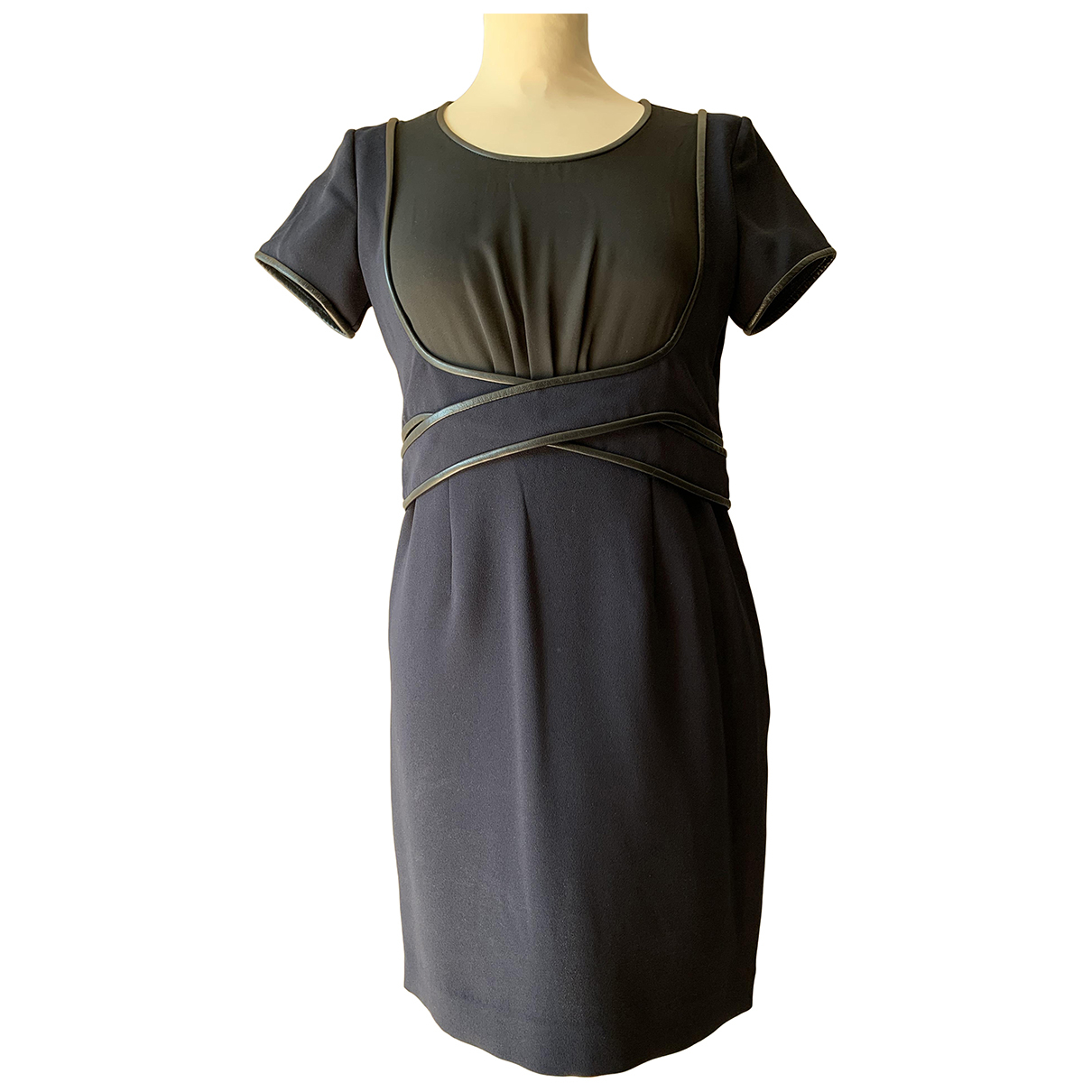 The Kooples \N Kleid in  Blau Polyester