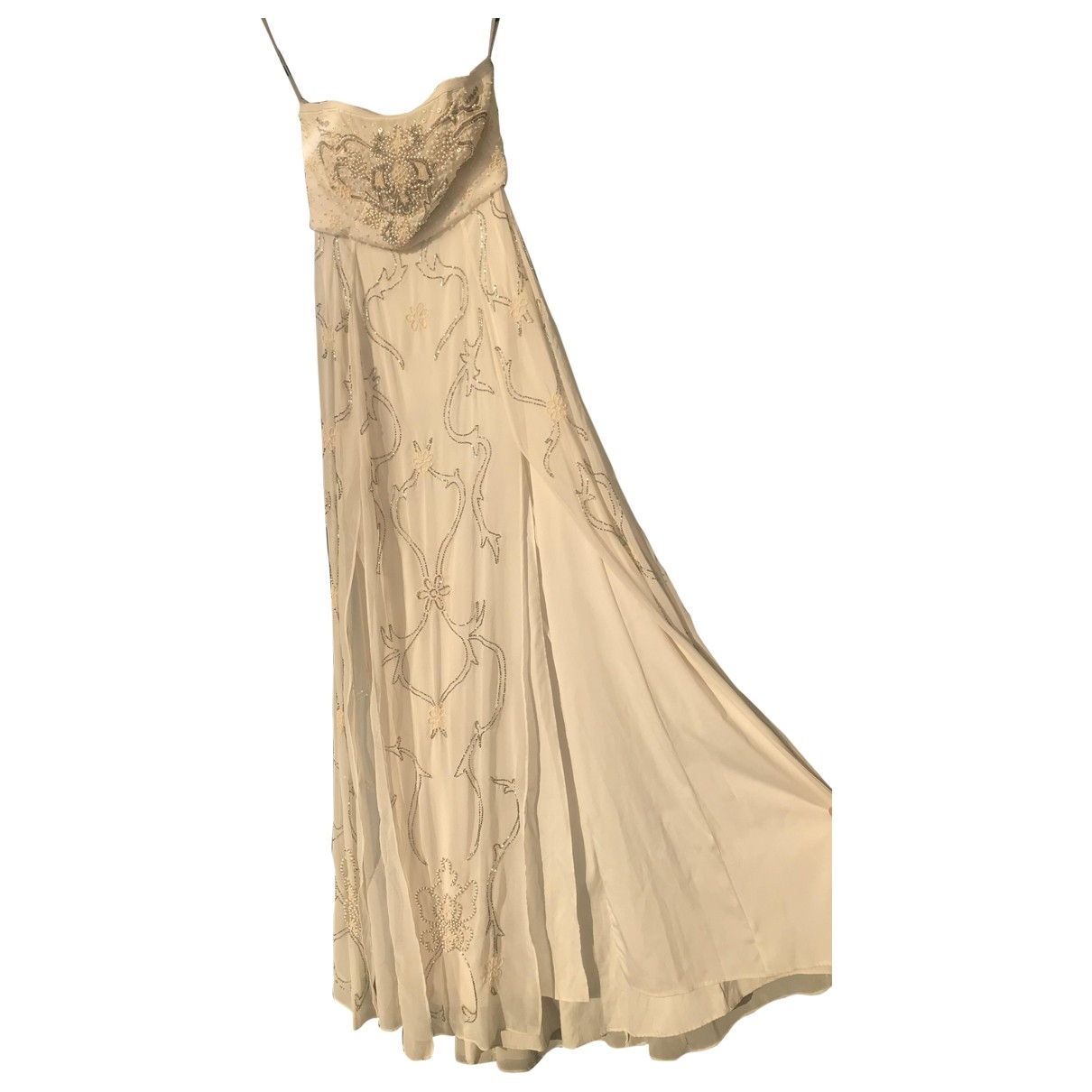 Needle & Thread \N Kleid in  Weiss Polyester
