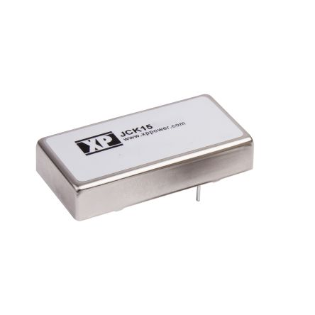 XP Power JCK 15W Isolated DC-DC Converter Through Hole, Voltage in 9 → 18 V dc, Voltage out ±12V dc