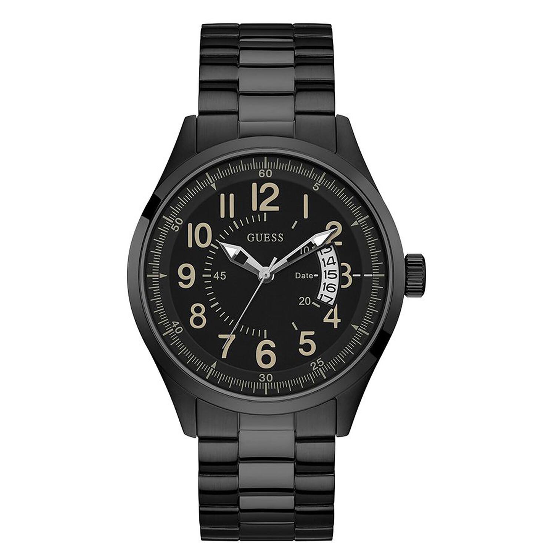 Guess Men's Dakota U1245G3 Black Stainless-Steel Quartz Fashion Watch