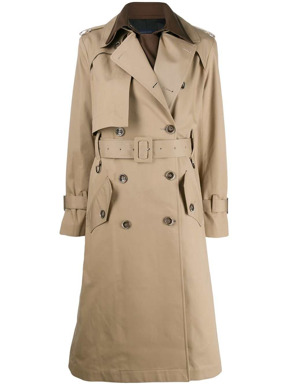 Ray Blend Cotton Trench