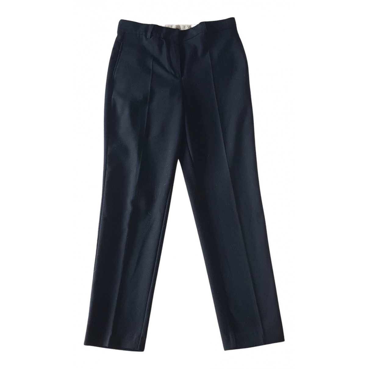 American Vintage N Blue Trousers for Women 38 FR